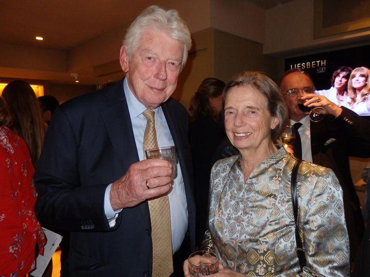 Oud-premier Wim Kok en zijn partner Rita Kok- Roukema. Nog geen musical Beeld Schuim