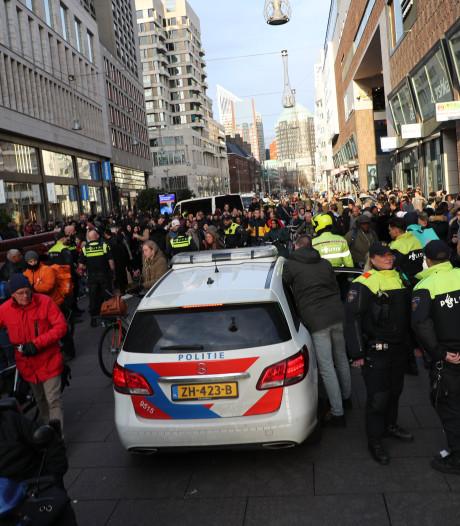 Onrust Grote Marktstraat ontstond na oproep van vlogger uit Papendrecht
