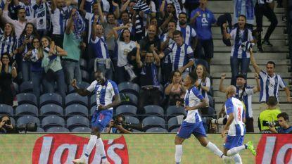 Kopbalgoal Maréga volstaat voor Porto voor eerste zege