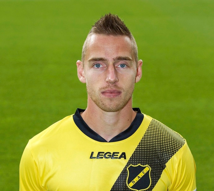 Donny Gorter of NAC Breda t
