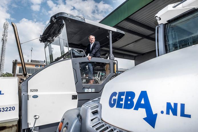 Directeur Wilfred Sleijffers van het bedrijf Geba.