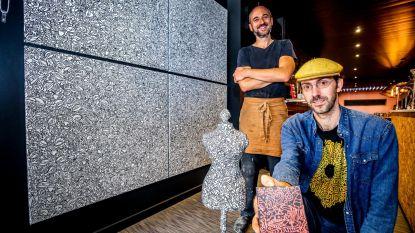 Kunstenaar en chocolatier laten je proeven van kunst