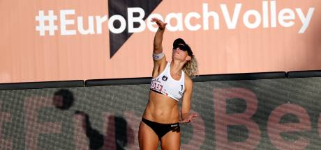 Beachvolleybalsters beginnen goed aan EK in Letland