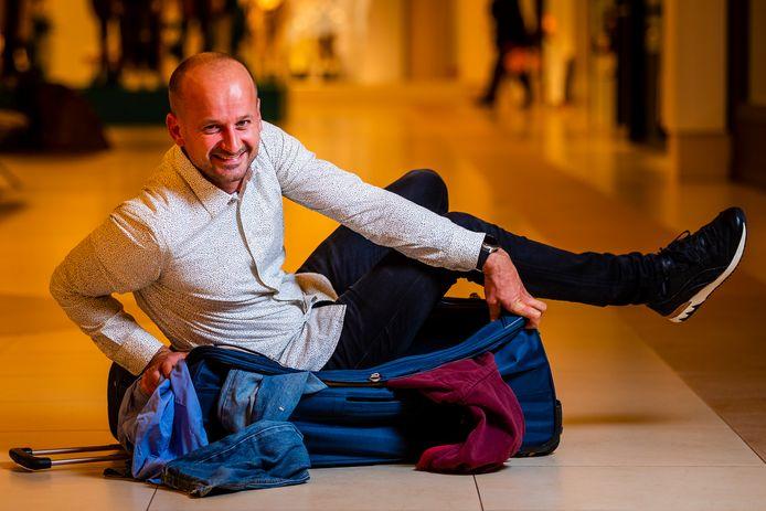 Commercieel directeur Tim van den Bergh van Sunweb.