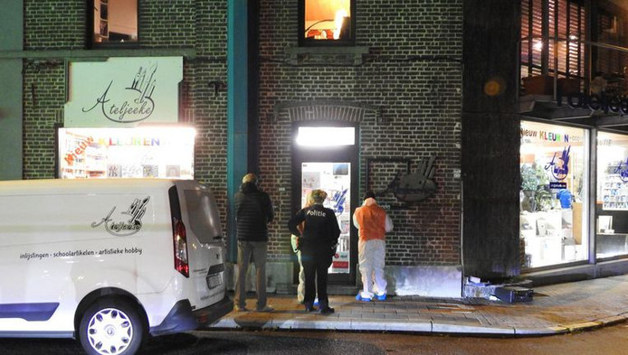 De buurtwinkel waar de vrouw werd vermoord