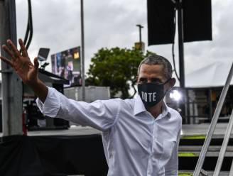 """Obama: """"Trump verknoeide coronabeleid totaal"""""""