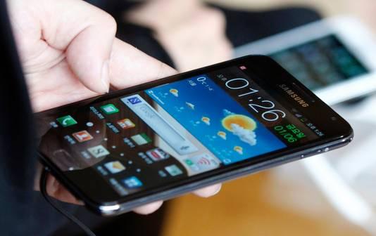 Met de ALD-technologie gefabriceerde microchips zijn tegenwoordig te vinden in alle smartphones