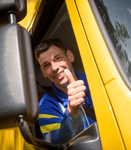 Louter vrolijke gezichten bij Truckrun Valkenswaard