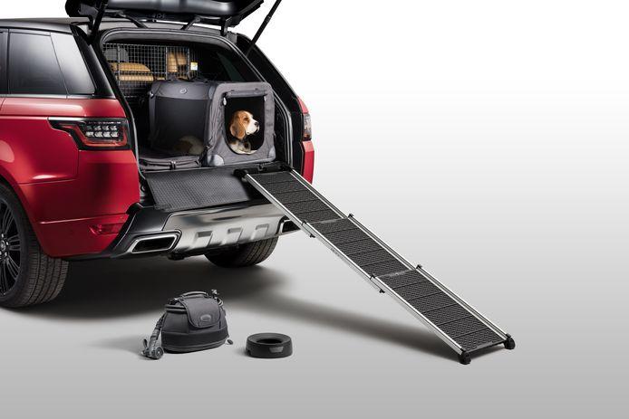 Land Rover pakt uit met verschillende 'Pet Packs'