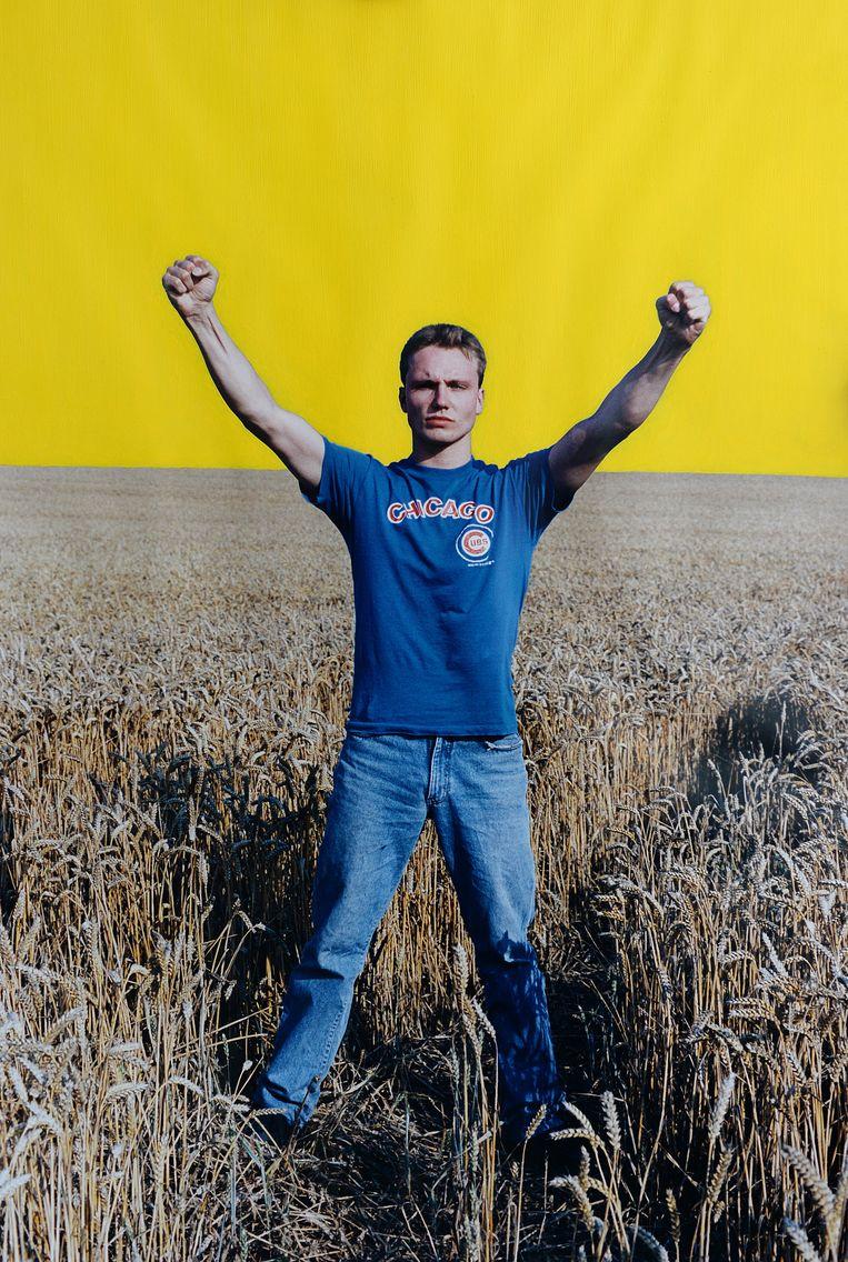 Zelfportret Serge Heederik. Beeld Marcel van den Bergh / de Volkskrant