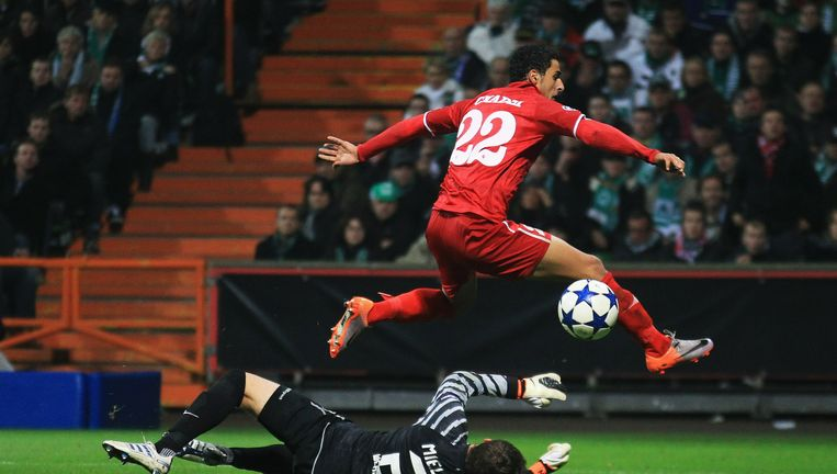 Nacer Chadli van FC Twente Beeld Bongarts/Getty Images