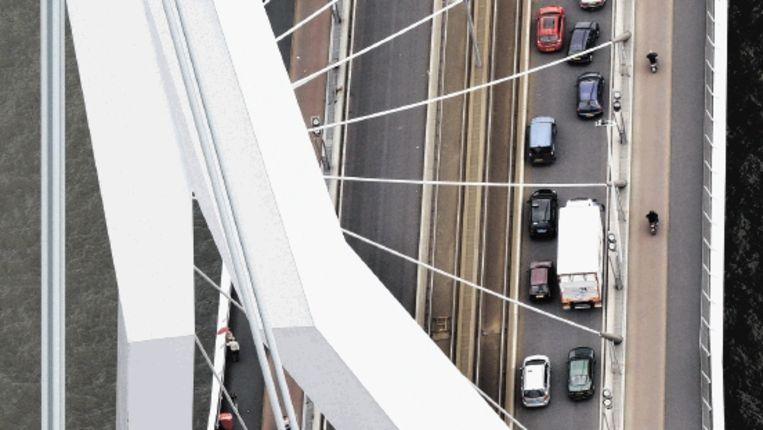 De Erasmusbrug in Rotterdam (Trouw) Beeld