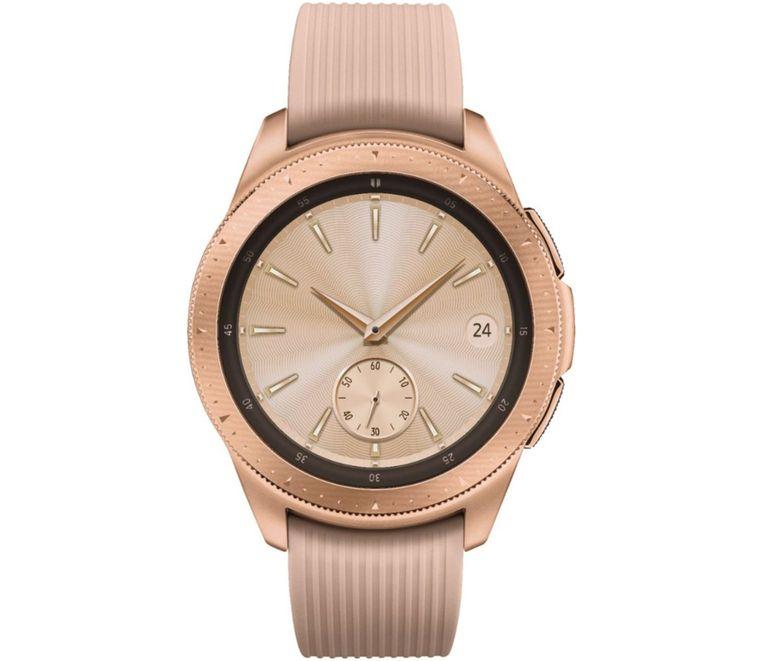 De Rosé Gold-uitvoering van de Galaxy Watch.
