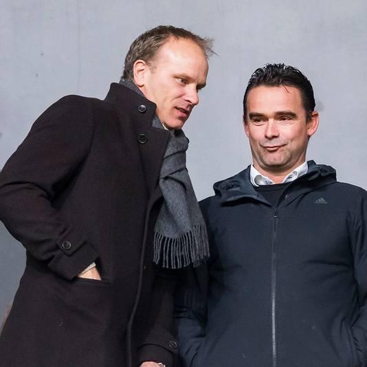Dennis Bergkamp en Marc Overmars.