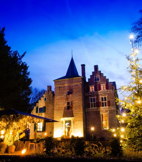 Kasteel De Wijenburg op 24 december X-Mas drive thru