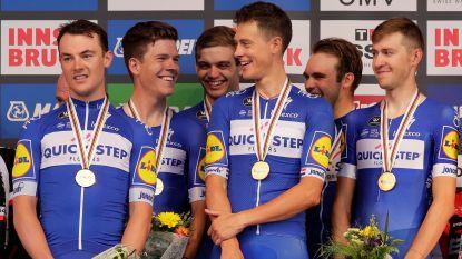 Quick.Step kroont zich voor vierde (en laatste) keer tot wereldkampioen in de ploegentijdrit