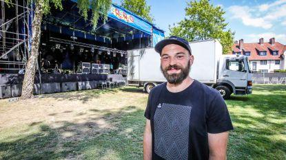 """Opbouw van Cactusfestival gestart: """"Hulp van 600 vrijwilligers"""""""