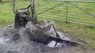 Brandweer rukt uit voor brandende compressor