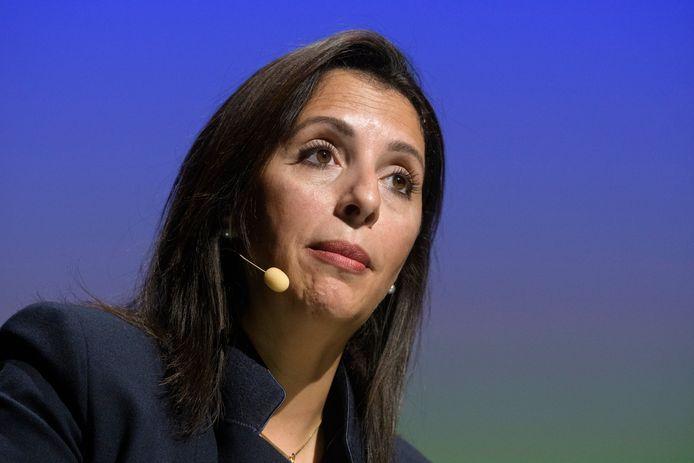 La co-présidente d'Ecolo Zakia Khattabi.
