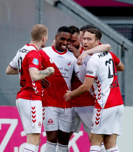Matig FC Utrecht dankzij Kerk op poleposition voor play-offs