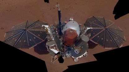Marslander InSight neemt eerste selfie