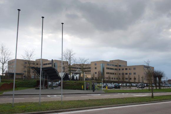 Het ziekenhuis in Overpelt.