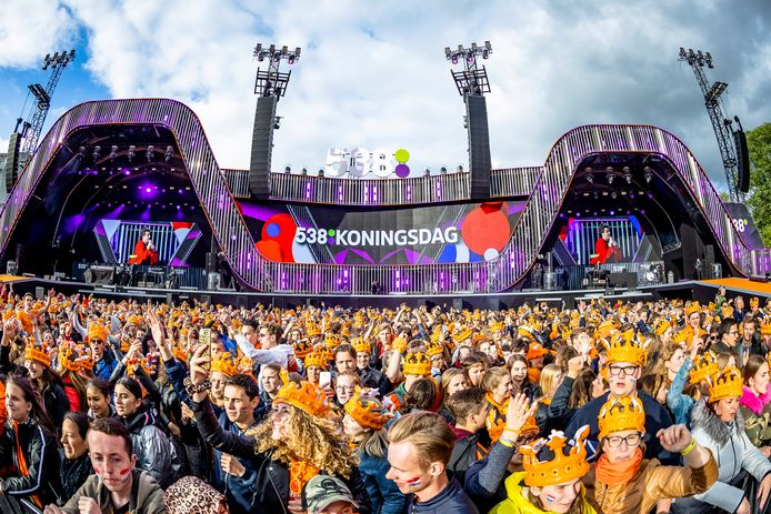 BREDA, Netherlands, 27-04-2019, entertainment, Chasseveld, Entertainment, Snollebollekes 538 Koningsdag 2019