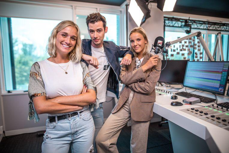 Julie Vermeire zal samen met Michaël Joossens en Josefien Weyns de ochtendshow op NRJ presenteren.
