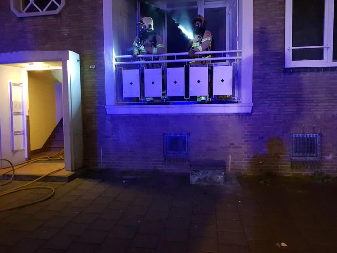 Brand in flat aan Huissensestraat.