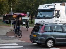 Auto's geweerd van Nijmeegse campus: Heyendaalseweg dicht voor doorgaand verkeer