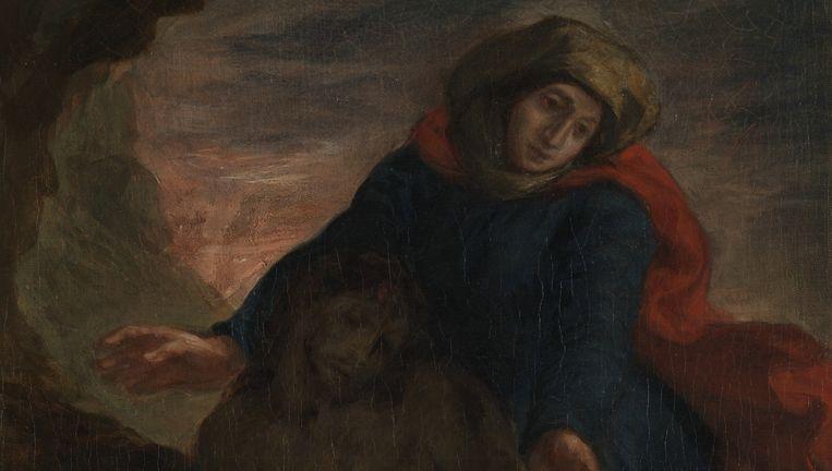 Piëta van Eugene Delacroix (1850) Beeld Eugène Kunstner Delacroix/Nasjonalmuseet for kunst