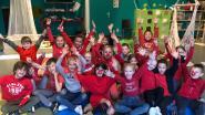 Vrije basisschool Sint-Anna kleurt rood voor slotfeest Rode Neuzendag