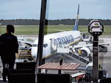 Piloten dagen Ryanair over sluiting basis in Eindhoven