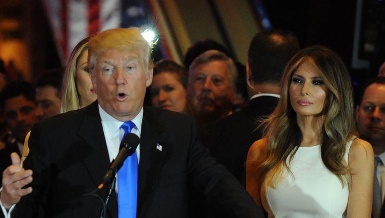 Donald en Melania Trump