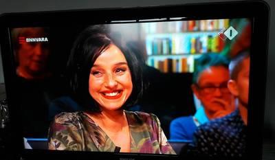 Vlissingse boekverkoopster Margreet de Haan in panel van De Wereld Draait Door