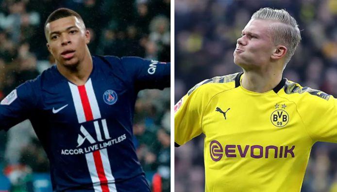 Kylian Mbappé et Erling Haaland s'opposeront lors du choc Dortmund-Paris SG mardi