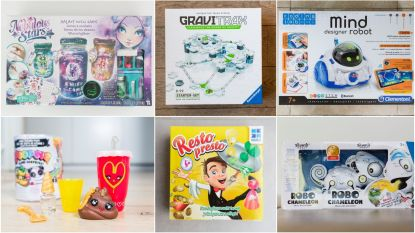 Wat vinden kinderen nu zélf van 'speelgoed van het jaar'? Onze testers nemen zes toppers onder de loep