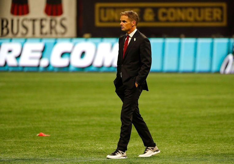 Frank de Boer. Beeld AFP