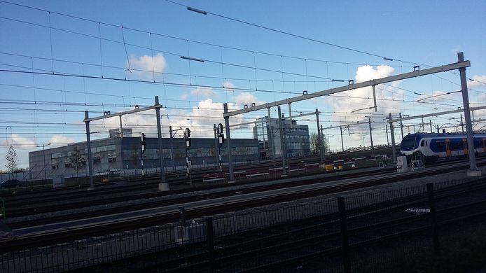 Het EKP-terrein, gezien vanaf de Boschdijkstraat.