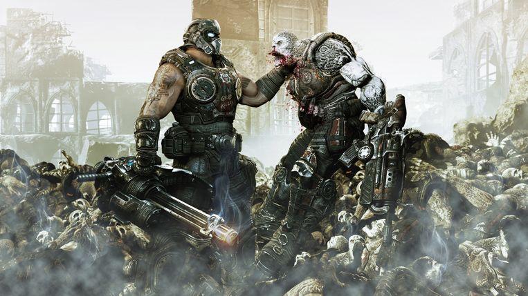 'Cross-platform? Over mijn lijk.' Beeld Beeld uit Gears of War