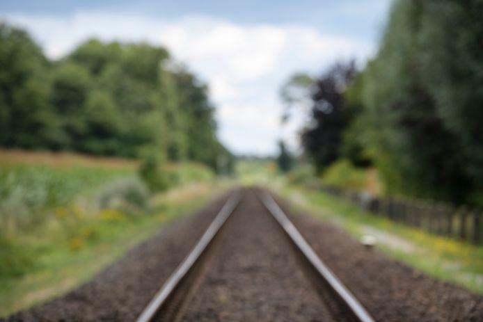 Het spoor bij Winterswijk. Ter illustratie.