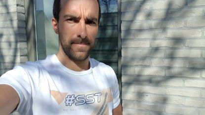 """Kristof (36) is geoefend atleet en toch belandde hij in het ziekenhuis met corona: """"Zelfs de dokters stonden voor een raadsel"""""""