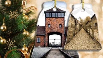 Amazon onder vuur voor verkoop Auschwitz-kerstdecoratie