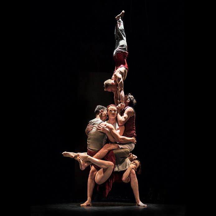 Het gezelschap  Casus Circus, zaterdag te zien in theater Markant in Uden.