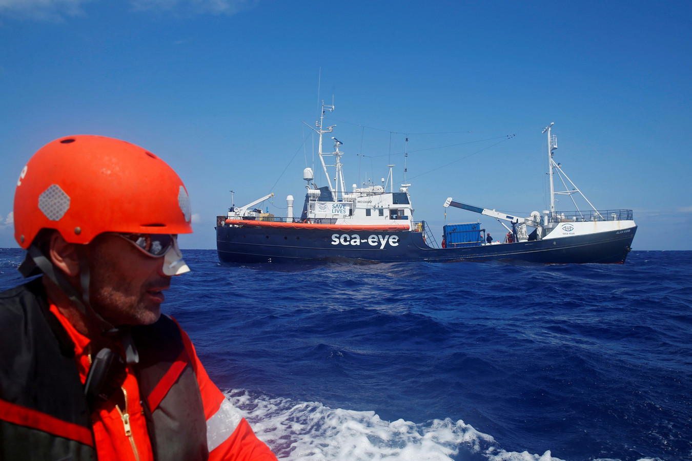 "Le navire ""Alan Kurdi"""