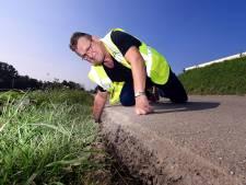 Zonken, scheuren en rimpels: deze wegen in Woensdrecht zijn er slecht aan toe volgens het Dorpsplatform