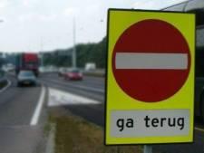 Oudere automobiliste rijdt tegen het verkeer de afrit naar de A16 op: 'Stel je voor dat ze was doorgereden...'