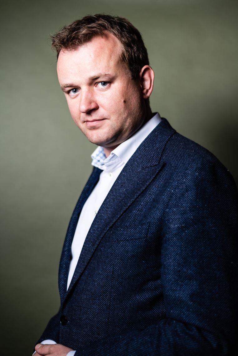 Bart van Kent, Tweede Kamerlid voor de SP. Beeld Katja Poelwijk