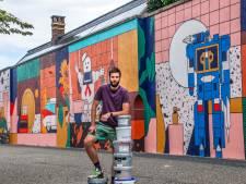 Muurschilderingen blijven komen: wéér een nieuwe in Tilburg, nog eens drie op komst