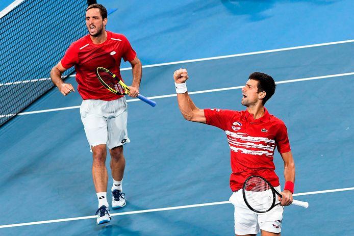 Troicki et Djokovic